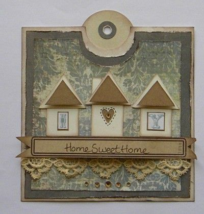 Gorgeous new home card!