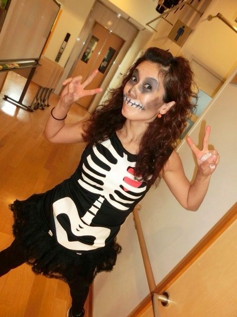 10-18-14 Keigo Community Center. Yukie Toyofuku wearing her x-ray  sc 1 st  Pinterest & The 52 best Zumba® 2014 Zum-Boo!-licious Halloween Jam images on ...