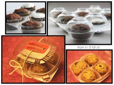 Bake Sale Packaging.  Blah to tada!