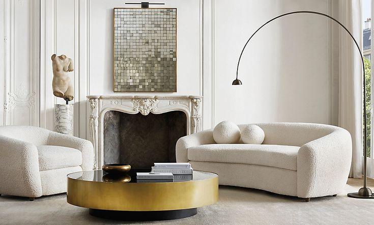 Rooms | RH Modern | Rh living room, Home interior design ...
