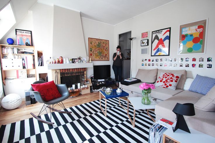 Bienvenue chez Louison, Dessinatrice - Hëllø Blogzine www.hello-hello.fr #home #design #colorful #helloblogzine