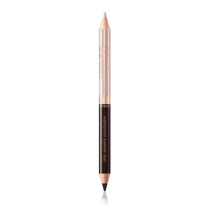 COVERGIRL truNaked Waterproof Eyeliner Duo Cashmere/Espresso, .03 oz. The two versatile shades of truNaked Eyeliner let you personalize your look with a naked or smoky eye. truNaked Eyeliner has shades like a prestige double-ended eyeliner. Creamy waterproof formula offers two blendable shades that glide on smoothly and stays put. This eyeliner has a perfect shade for any occasion and every mood. Use truNaked Eyeliner Duo with COVERGIRL truNaked Eye Shadow.
