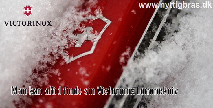 Dette er faktisk årsagen til at man oprindeligt valgte den flotte røde farve ved den klassiske Victorinox Lommekniv.  En Victorinox lommekniv er en trofast følgesvend for resten af livet.  Kig forbi www.nyttigbras.dk  #jagt #danmark #hunting #victorinox #knive #københavn #jylland #sjælland #outdoor #grej #lommeknive #inspiration #spejder #fyn