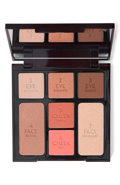 Get glowing, This limited-edition Instant Look in a Palette from Charlotte Tilbury allows you to create   a bronzed, beautiful, fresh faced look in only 5 minutes.