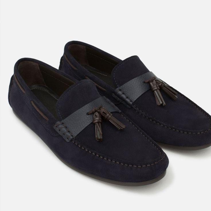 Homme Top Vernis Punto Chaussures Medio NoticiasZara 10 T1c3FKJl