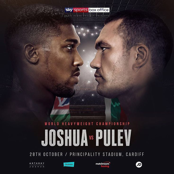 Matchroom Boxing has confirmed @anthony_joshua will defend his Heavyweight titles vs. Kubrat Pulev, October 28 at the Principality Stadium in Cardiff.  #Boxing #Boxeo #RoundByRoundBoxing #RBRBoxing #JoshuaPulev #AJBXNG #Cardiff #BoxingNews #BoxingHype #BoxingFanatik #BoxingGuru #MatchroomBoxing