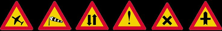 σηματα κοκ - Όλα τα σήματα του ΚΟΚ - πινακίδες αναγγελίας κινδύνου 5