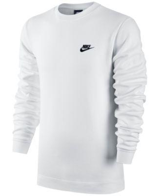 Nike Men's Crewneck Fleece Sweatshirt | macys.com