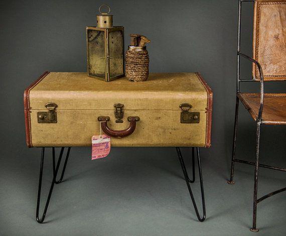 Les 25 meilleures id es concernant bagages vintage sur for Table valise