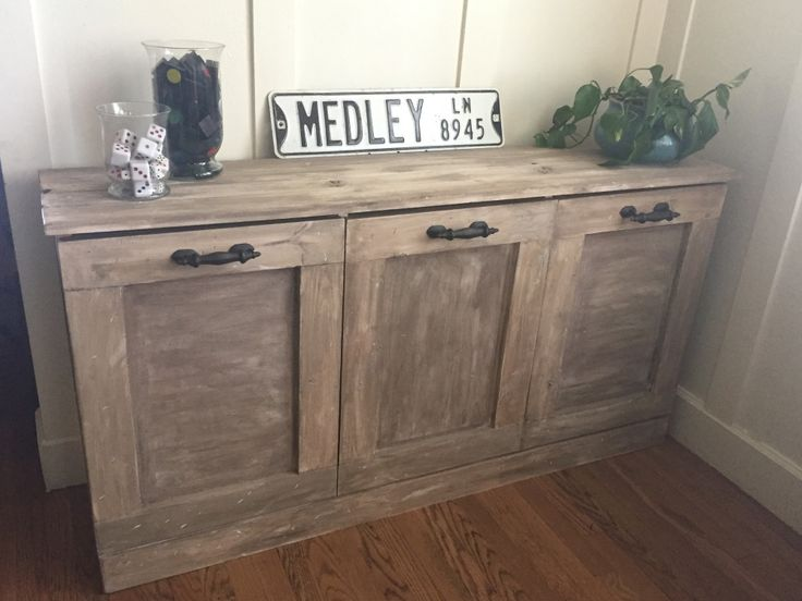 DIY furniture: Laundry Sorter, plans by shanty to chic