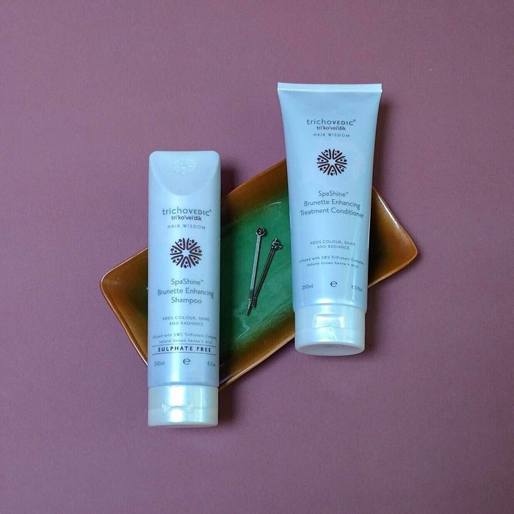 Add and enhance colour incredible shine and nourishment to tired brunette strands with our Brunette Enhancing shampoo and treatment conditioner. #trichovedic #hairwisdom #luxuryhaircare #brunette