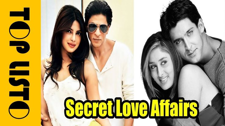Famous Bollywood Stars With Their Secret Love Affairs 2017