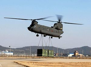 Boeing CH-47 Chinook - My grandfather was a door gunner on this aircraft during the Vietnam War.