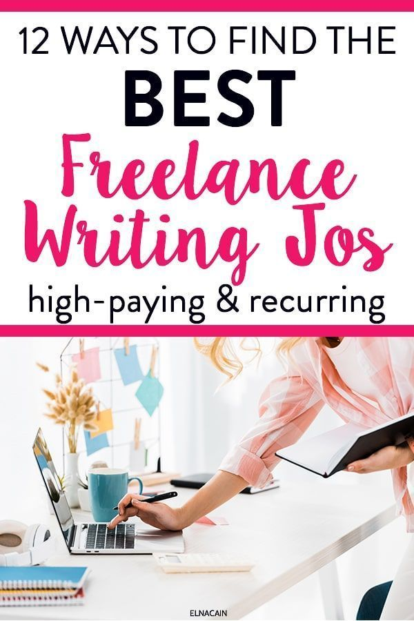 12 Ways To Find The Best Freelance Writing Jobs Elna Cain Freelance Writing Writing Jobs Freelance Writing Jobs