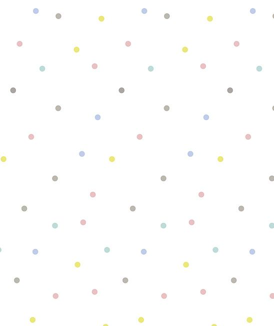 Happy Clouds Confetti - Behang