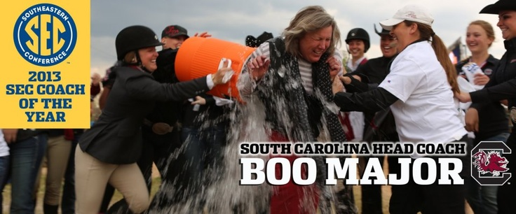 Congratulations to Boo Major SEC Coach of the Year for