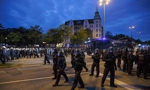 Hamburg braces for G20 violence as tensions rise over police tactics | World news | The Guardian