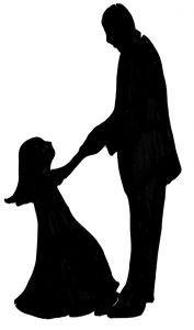 daughter on father's feet dancing silhouette - Recherche Google
