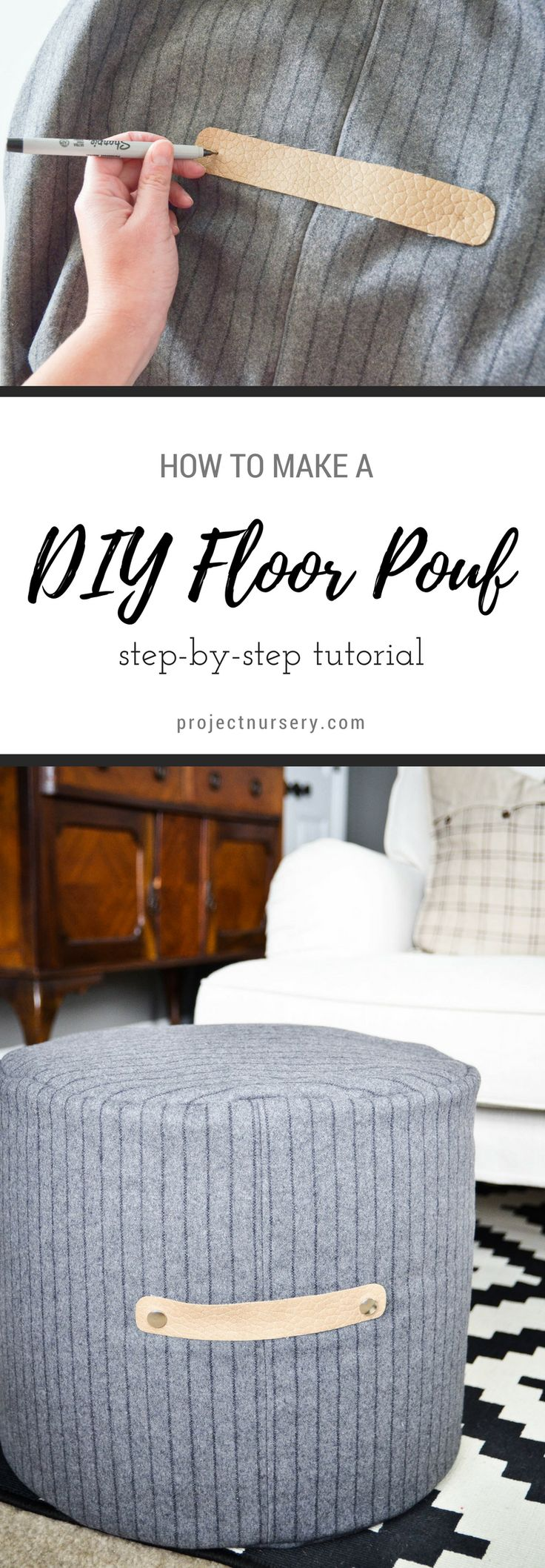Best 25 Floor Pouf Ideas On Pinterest Diy Pouf Crochet