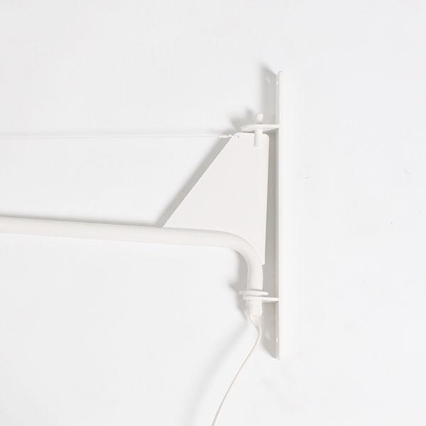 LP308S Простой черный или белый жан малый Prouve Потенцию Настенный Светильник в спальне Качание левой и правой настенные светильники купить на AliExpress