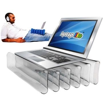 Reposa portátil hinchable. Máximo confort para tí y tu ordenador 1