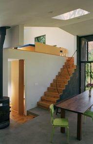 bedroom loft; natural light