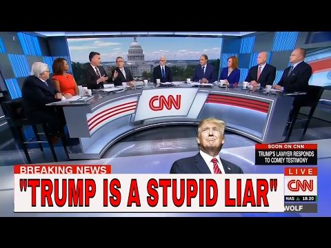 "(113) ""RELEASE The Tapes!"" CNN Politics Panel Full REACTION On James Comey's TRUMP Testimony - YouTube"