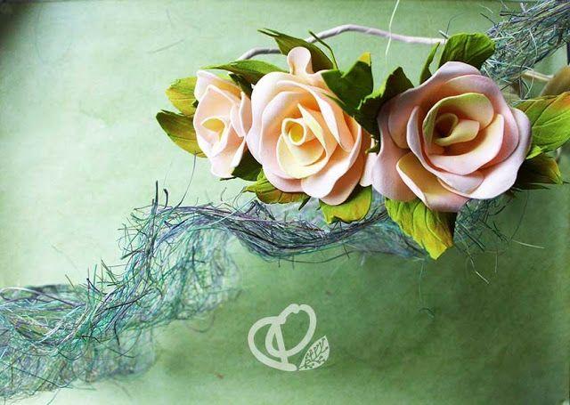 """Ручная работа для ценителей и живопись для эстетов: Дизайнерские украшения Ободок """"Kliti"""""""