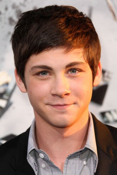 Nathan wants to go shorter like this -- Simple Short Haircut with Side Swept Bangs Hair for Young Boy from Logan Lerman