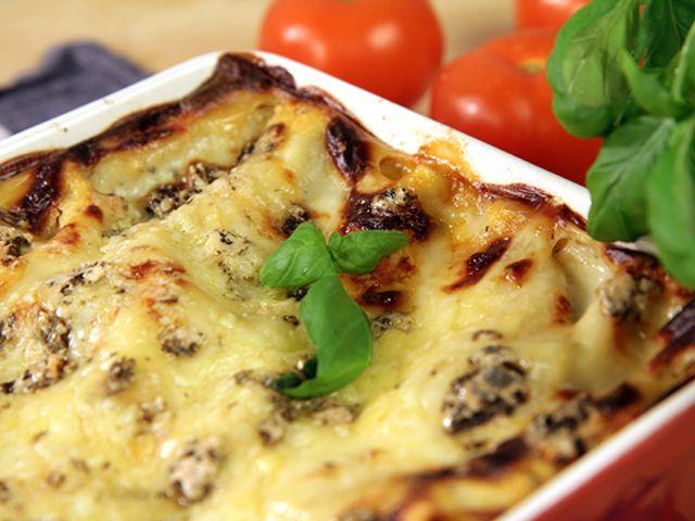 Lasagne med tre sorters ost (kock Donal Skehan)