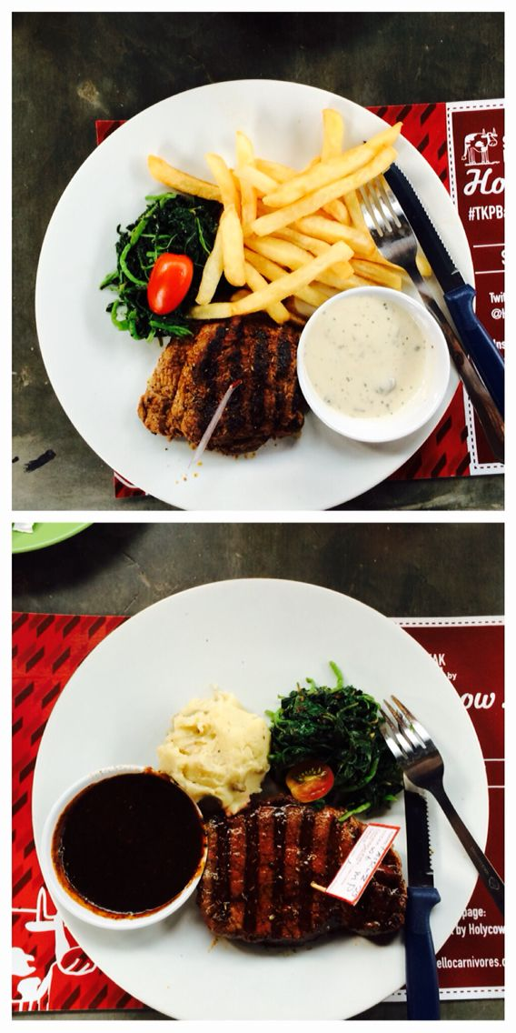 Meat time! - at Steak Hotel by Holycow Jl. Riau 79A Bandung