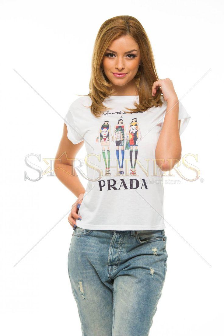 Tricou Ana Radu Fashion Addict Green