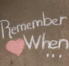 """""""Remember when, thirty seemed so old, now lookin' back, its just a steppin' stone...Remember when old ones died and new were born...Remember when the sound of little feet was amusing...We won't be sad, we'll be glad for all the life we've had..."""" -Remember When -Alan Jackson"""