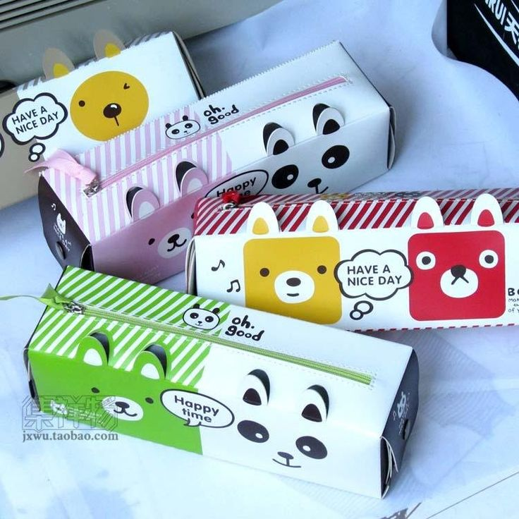 Nieuwe diy dieren melkpakken creatieve etui etui pennenbakje zak cadeau voor meisje wholesale+ 30pcs/lot in  van  op Aliexpress.com