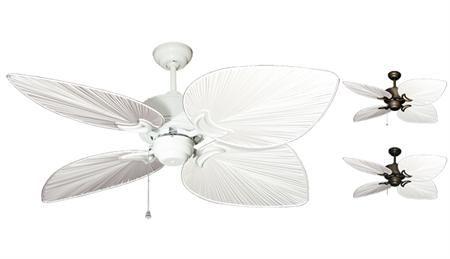 Gulf Coast - Bombay Tropical Outdoor Ceiling Fan - 50