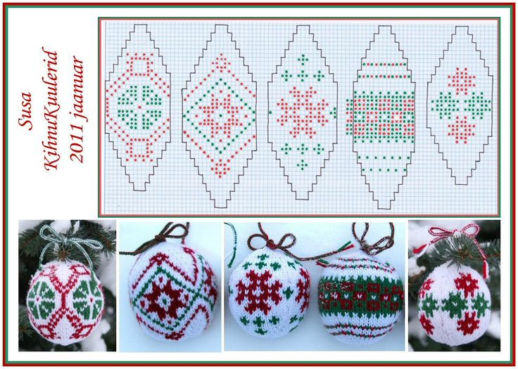needle craft ornaments