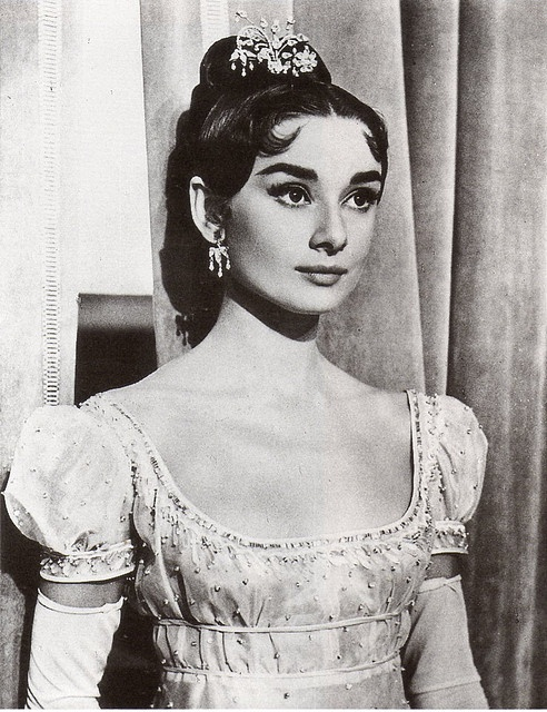 Audrey in War and Peace by thefoxling, via Flickr