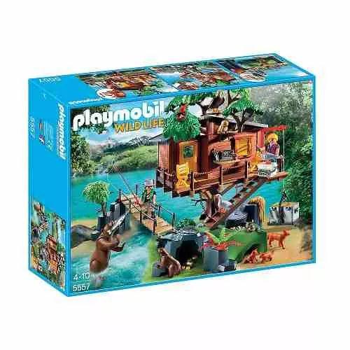 Playmobil 5557 Casa Del Árbol De Aventuras - $ 4.299,99
