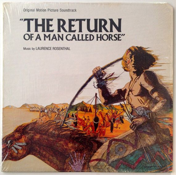 The Return Of A Man Called Horse LP Vinyl Record Album, United Artists Records - UA-LA692-G, Soundtrack, 1976, Original Pressing