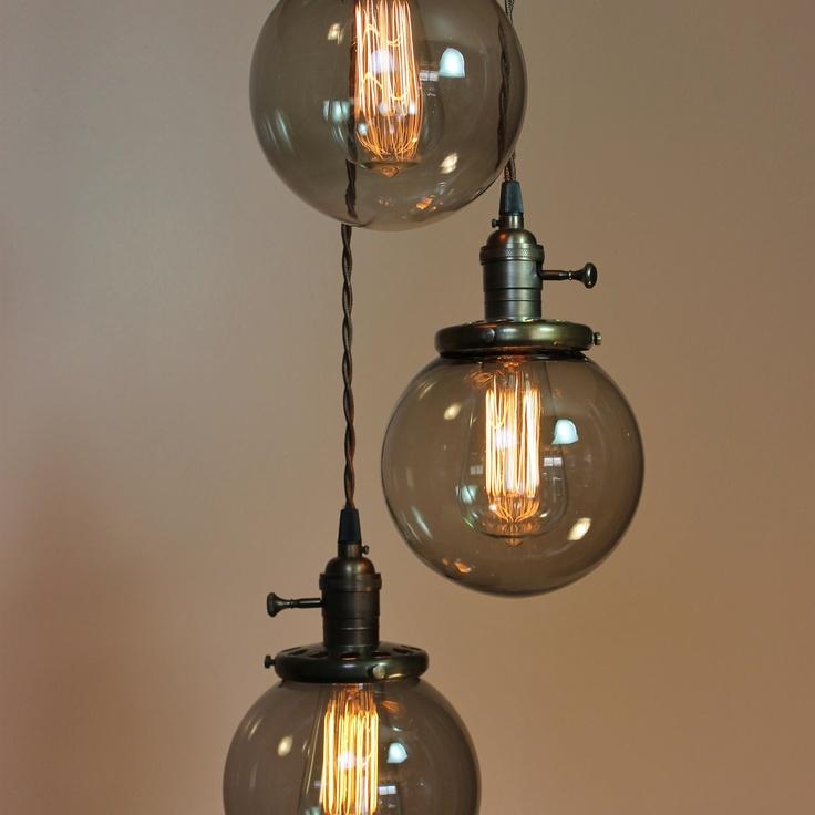 Edison Bulb Light Ideas 22 Floor Pendant Table Lamps: Best 25+ Edison Light Chandelier Ideas On Pinterest