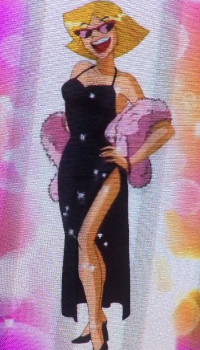 Totally Spies Clover Clover Character