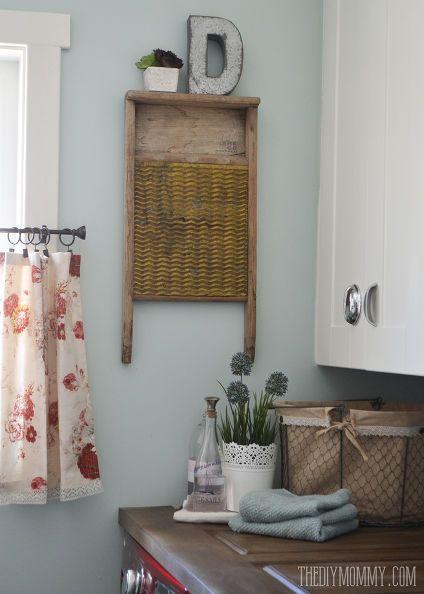 love the old wash board