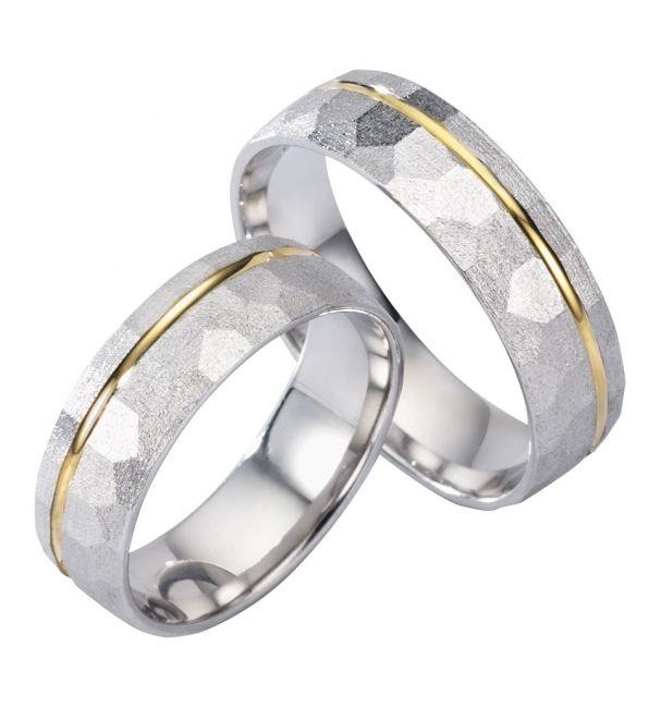 Zilveren Ringen Heren en Prachtige Zilveren Ringen Dames met 14 karaats Goud. DE BESTE PRIJS vind je bij Trouwringenvoordeel.nl - € 354,95