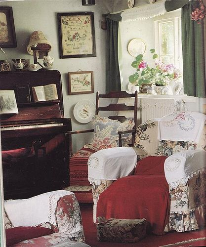 More English Country by Knitty, Vintage and Rosy, via Flickr