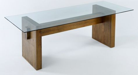 Resultado de imagen para mesa comedor madera vidrio | Lofts en 2019 ...