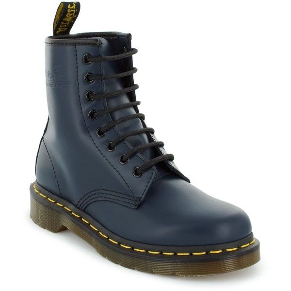 Dr. Martens Women's Shoes, Original 1460 Boots ($120) ❤ liked on Polyvore