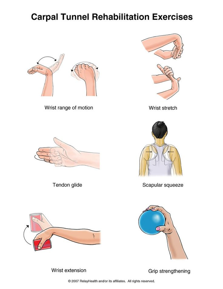 Even if you don't have carpal tunnel, these are good exercises to do to strengthen your hands, fingers, and wrists, especially given how many of us use technology all the time nowadays.