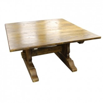 Square Regular Top Timber Dining Table