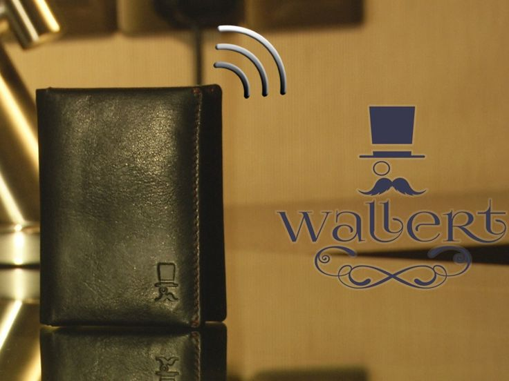 Wallert - slim your wallet and keep it Smart - with built-in bluetooth locator, latest slim design - Wallert works for your life.