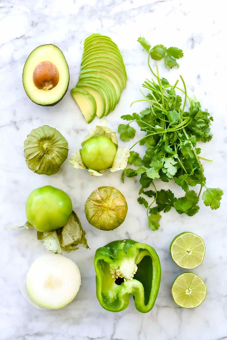 Creamy Avocado Salsa Verde | foodiecrush.com